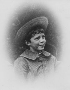 Arthur Ransome aged approx 5 (c) Arthur Ransome Literary Estate