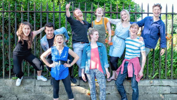 Swallows & Amazons cast photo call, photo by Ant Robling