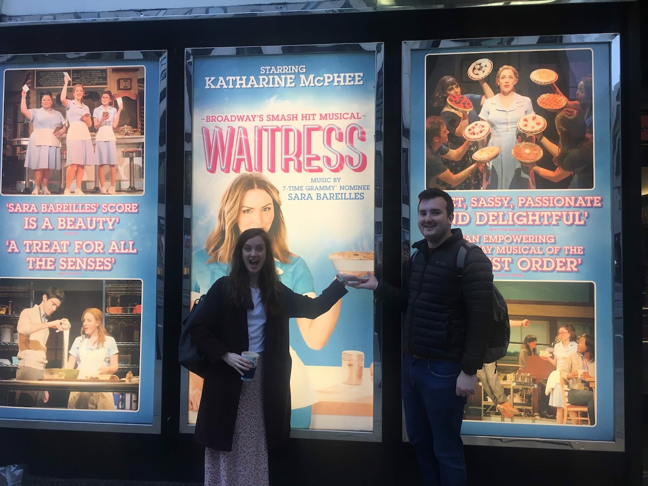 Henry & Jessy at Waitress the Musical